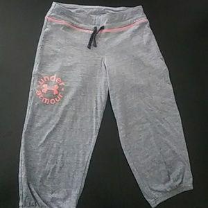 Girls Under Armour 3/4 jogging pant